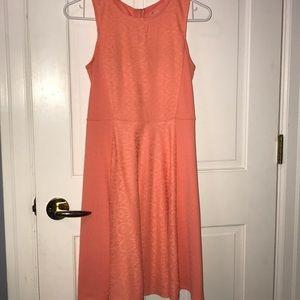 Coral dress (girls XL)